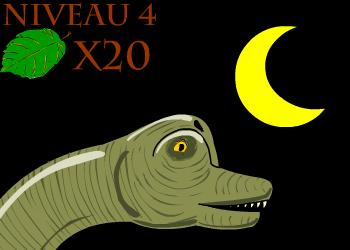 Brachiosaure mange feuille niv4